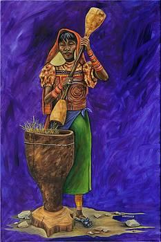 Kuna Indian   by Dawn Pfeufer