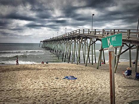 Kure Beach Fishing Pier by Phil Mancuso