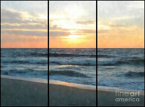 Jaclyn Hughes Fine Art - Kure Sunrise Triptych