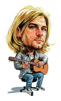Kurt Cobain by Art