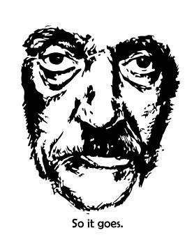 Kurt Vonnegut by Alexandra-Emily Kokova