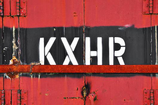 Sharon Popek - KXHR Train Car