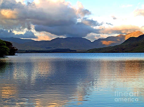 On the Banks of Kylemore Lake by Patricia Griffin Brett