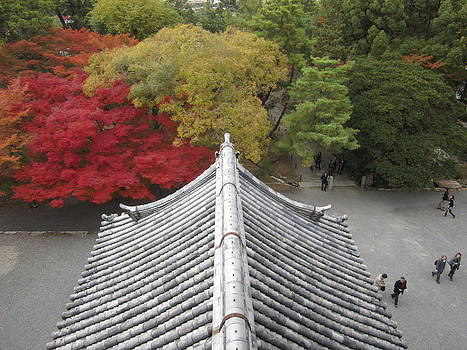 Kyoto Fall by Stefanie Weisman