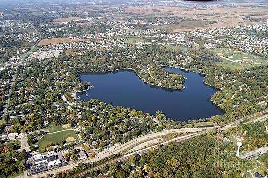L-023 Loch Lomond Lake Mundelein Illinois by Bill Lang