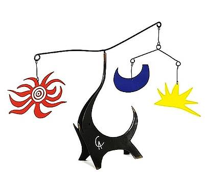 L' Elephant Noir  by Alexander Calder
