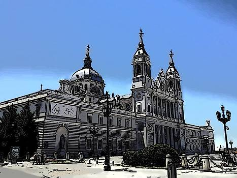 La Almudena Cathedral by Galexa Ch