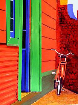 La Boca-Reserved Parking by JoeRay Kelley
