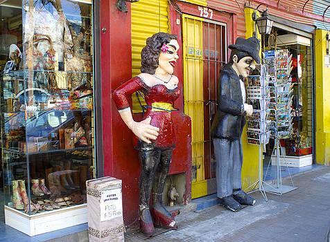 Venetia Featherstone-Witty - La Boca Street Scene #2