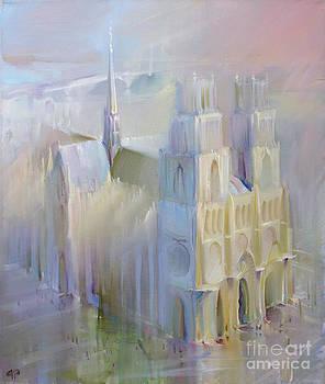 La cathedrale Sainte-Croix. Orleans by Roman Romanov