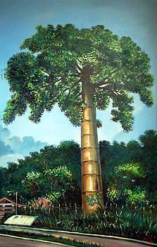 La Ceiba en el camino by Ricardo Sanchez Beitia