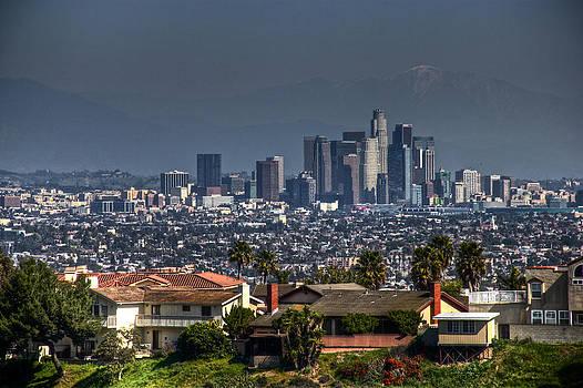LA Cityscape by Richard Hinds