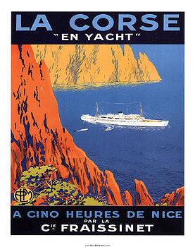 La Corse En Yacht by Vintage