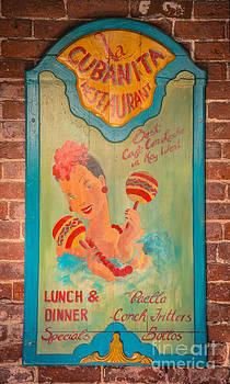 Ian Monk - La Cubanita Restaurant Key West - HDR Style