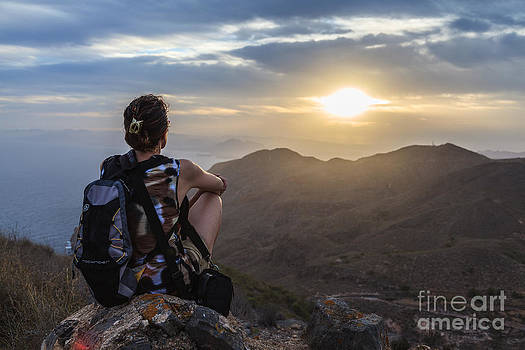 La Excursionista by Eugenio Moya