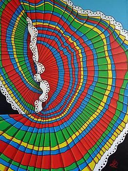 La Falda Girando - The Spinning Skirt by Katherine Young-Beck