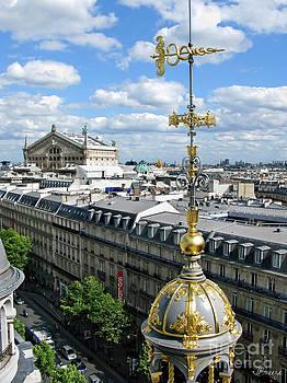 La Fayette Aerial   Paris by Jennie Breeze