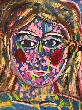 La femme du printemps by Danielle Landry