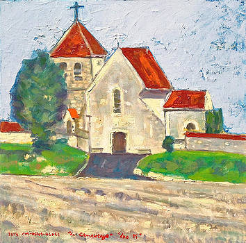 La Genevraye Church France  by Chevassus-agnes Jean-pierre