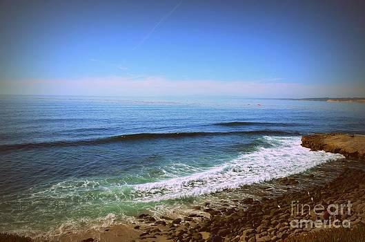La Jolla Beach by Kiana Carr
