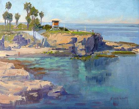 La Jolla Coast by Sharon Weaver