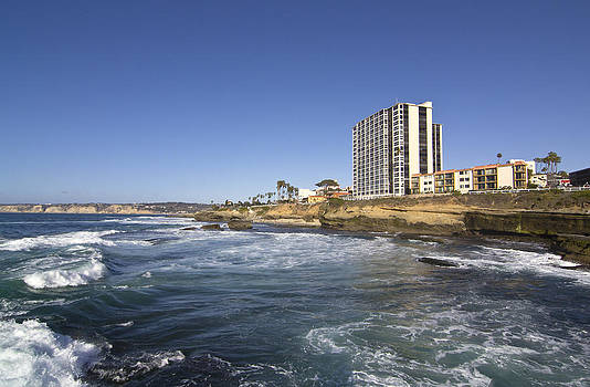 La Jolla Shore Sunny Day by Ginger Sanders