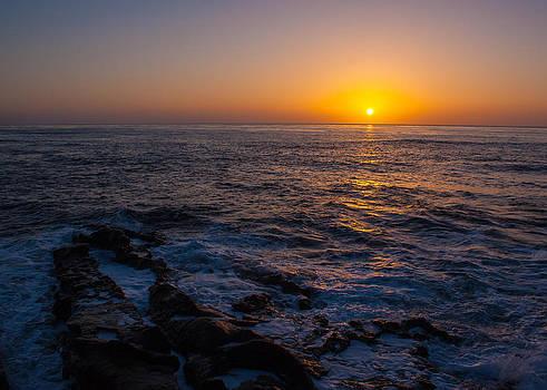 La Jolla Sunset by Michael Hunter