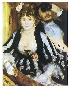 Pierre-Auguste Renoir - La Loge
