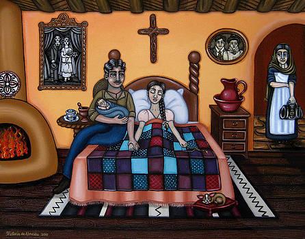 La Partera or The Midwife by Victoria De Almeida