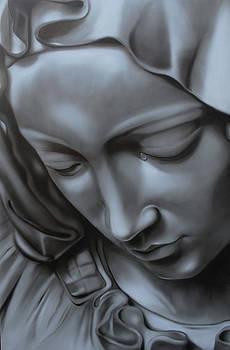 La Pieta Detail by Nicko Gutierrez