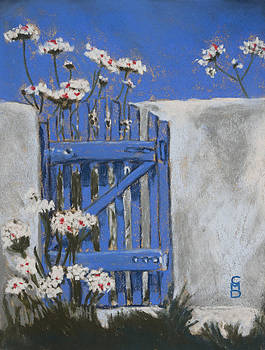 La Porte Bleue by Cristel Mol-Dellepoort