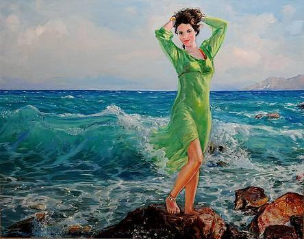 La Primavera - My Daughter by Sefedin Stafa
