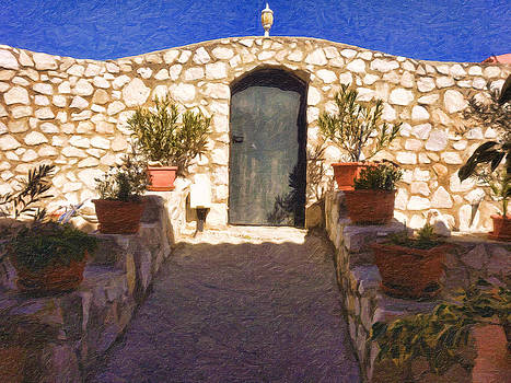 La Puerta Negra - Black Door by Dami Munoz