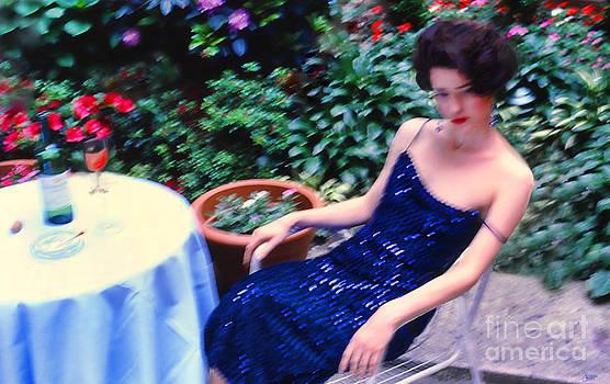 La Robe Assez Bleue by Jeff Breiman