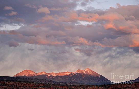 La Sal Mountains  by Juls Adams