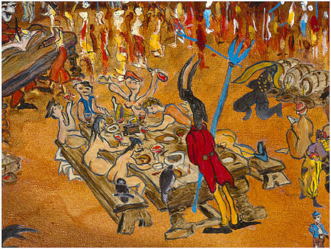 La table 4 by Bernard RENOT