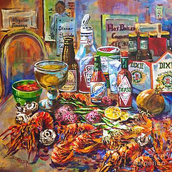 La Table de Fruits de Mer by Dianne Parks