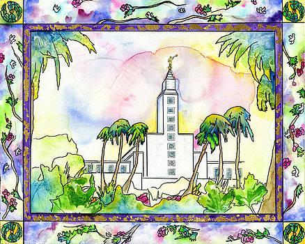 LA Temple by Cyrene Swallow
