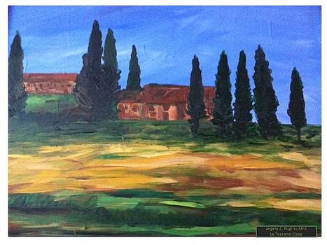 La Toscana Case by Angela Puglisi