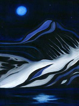 Labrador Blue Mountain by Ran Andrews