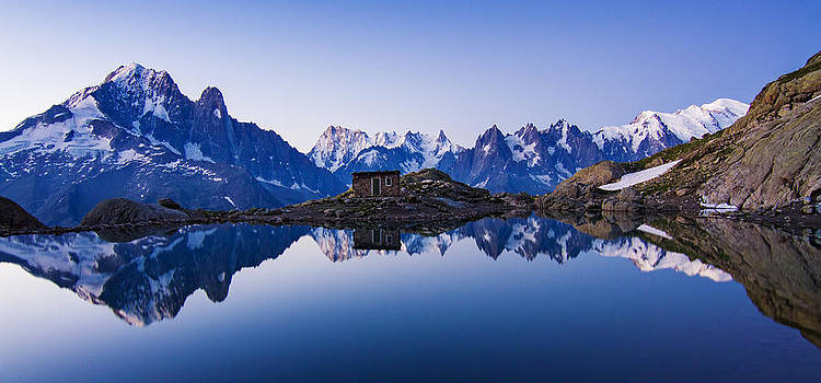 Lac Blanc Panorama by Mircea Costina Photography