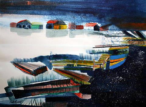 Lac La Matre Winter by Randy Bell
