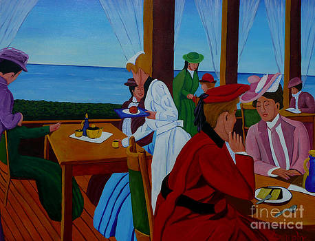 Ladies Luncheon by Anthony Dunphy
