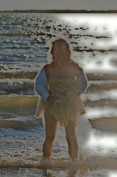 Ladies on the Beach 165 B by Bernd Buessecker