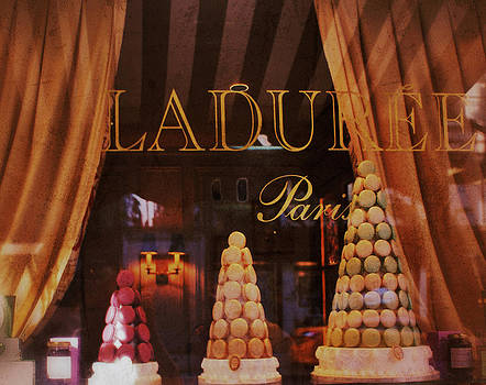 Laduree Paris-French Macaroons Paris Shop in New York City by The Art With A Heart By Charlotte Phillips