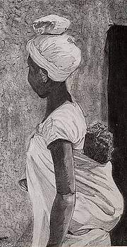 Labour with Child by Anuradha Gupta