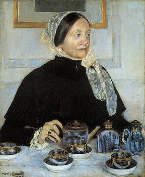 Mary Cassatt - Lady at the Tea Table