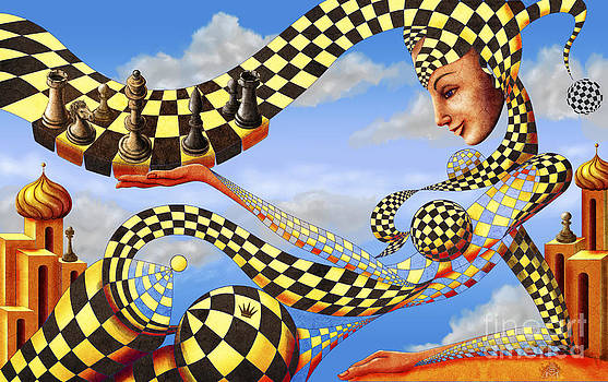 Lady Chess. Let's play the game by Serge M