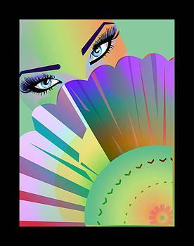 Lady Fan by Alberto Galvez
