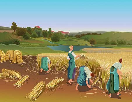 Lady Farmar by Prakash Leuva